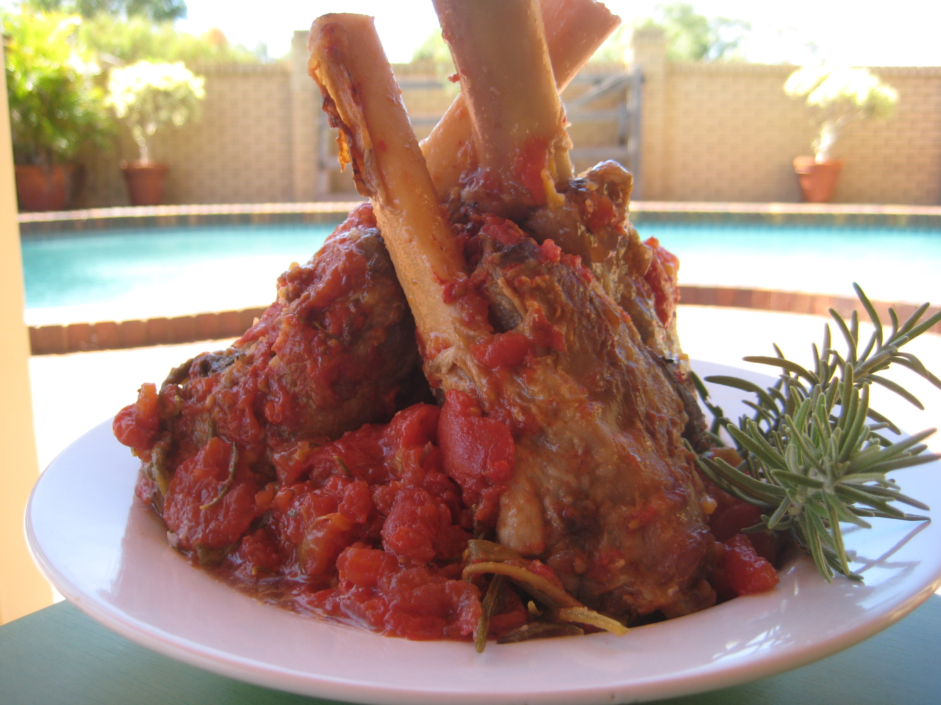 Lamb Shanks With Tomatoes And Fresh Herbs Recipes — Dishmaps